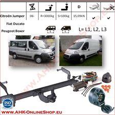 Gancio traino Citroen Jumper / Fiat Ducato L=L1/L2/L3 2006- +elettrico 7-poli