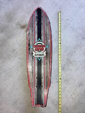 """Channel One Skateboard Swallow Tail 30-1/2"""" Preowned"""