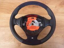 M-Power volante de cuero bmw e34 e36 e39 nuevo lederrbezug con Alcantara