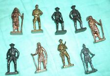 Miniature Cowboys And Indians Made In Italy Metal Lot