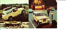 """1970 Jeep Jeepster Commando Advertising Postcard  7"""" Long"""