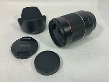 Rokinon 35mm f/1.4 Auto Focus Lens With AF 50mm f/1.4-16 FE Sony E Full Frame