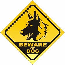 Beware of the Dog Beware of Dogs Warning Sticker Decal Graphic Vinyl Label V3