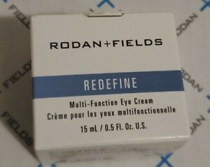 Rodan + and Fields Redefine Multi-Function Eye Cream 0.5oz/15ml  NEW & IMPROVED