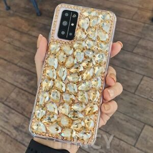 for Xiaomi Mi Mix Fold Luxury Diamond Hard Girly Phone Cases & Screen Protector