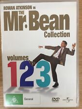 THE MR BEAN COLLECTION Volumes 1 2 & 3 3 x DVD Set Excellent Collection