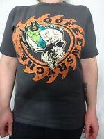 Queensryche Gear and Skull Tour T-shirt Sz Men's M Women's XL Vintage Rare HTF