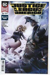 Justice League of America # 26 Mattina Variant Cover NM