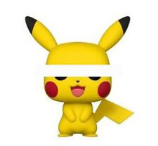 Funko Pop Games Pokemon Pikachu Vinyl Figure with Box Cosplay Toy Pikachu #353