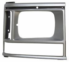 1987-90 Dodge Caravan Front Right Headlight Bezel Silver New 4388218 DG07020HAR