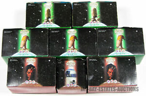 LOT OF 8 STAR WARS EPISODE I FIGURES 1999 TRICON GLOBAL KFC/TACO BELL/PIZZA HUT
