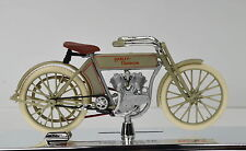 Harley Davidson 1909 Twin 5D V-Twin Scale 1:18 Olive Green by Maisto