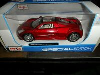 HTF Red Maisto 2005 Chrysler ME Four Twelve Concept 1/24 Scale Special Edition