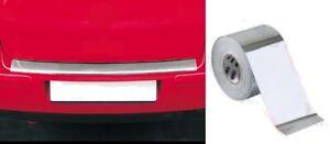 High CHROME Effect Boot Rear Bumper Sill Protector Tape (BSP5) fits ASTON MARTIN