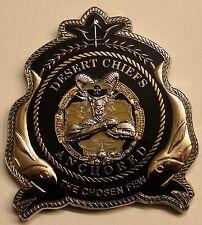 Port Operations Camp Lemonnier Djbouti Africa Desert Chiefs Navy Challenge Coin