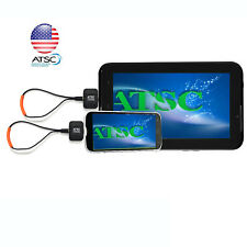 USA Digital Terrestrial OTA ATSC Android Phone Tablet Dongle TV Tuner Receiver