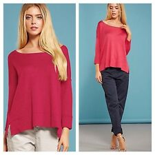 French Connection Size S Summer Rouge Small Lightweight Knit JUMPER Top Fab New
