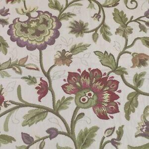 KRAVET Jacobean Floral Lampas Made In Italy