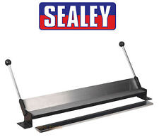 SEALEY DF760 Bench Mounting 17 Gauge Garage Sheet Metal Rod Folder Bender Former