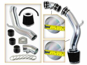 BLACK COLD AIR INTAKE KIT+DRY FILTER For 02-06 Nissan Altima Sedan 2.5L L4