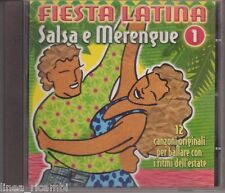CD Audio FIESTA LATINA - Salsa e Merengue 1 - 12 canzoni originali