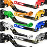 For YZF R125 Extending&Foldable Brake Clutch Levers CNC Yamaha 2008-2012