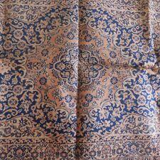 Tapis laine fait main handmade wool rug art nouveau déco France