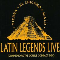 Various Artists - Tierra Chicano Malo: Latin Legends Live / Various [New CD]
