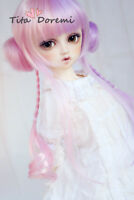 Bjd Perruque 1/3 8-9 UNCLE DOD DD DZ DAL AOD Dollfie Doll Toy Head Beauty wig