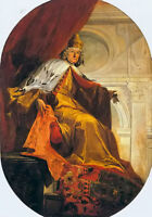 Oil Giovanni Battista Tiepolo - portrait of doge giovanni ll corner no framed