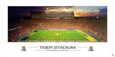 LSU Tigers Football TIGER STADIUM SATURDAY NIGHT Premium Poster Print