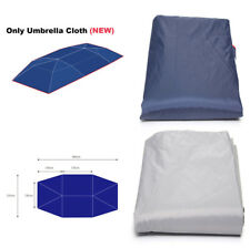 Navy Blue UV Replaceable Oxford Cloth 4*2.1M For Auto Umbrella Tent Roof Cover