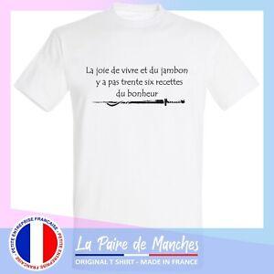T shirt kaamelott - citation karadoc, bonheur tee shirt  homme blanc noir -ffsk7