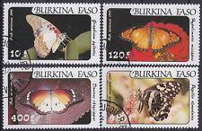 102641 Obervolta 1984 Nr 957-960 Gestempelt Briefmarken Afrika