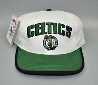 Boston Celtics NBA Vintage 90's Twins Enterprise Adjustable Snapback Cap Hat