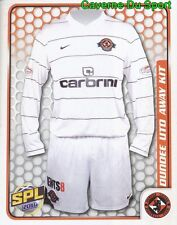 079 AWAY KIT SCOTLAND DUNDEE UNITED STICKER SCOTTISH PREMIER LEAGUE 2010 PANINI
