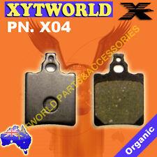 X04 Brake pads APRILIA CAGIVA FANTIC GENERIC KEEWAY MAL
