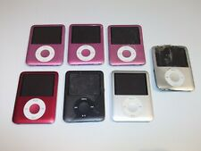 7 x Apple iPod Nano 3rd Generation 4GB ,8GB - Damage / Faulty Joblot