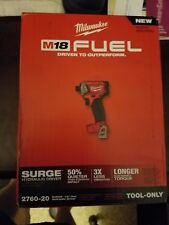 NEW MILWAUKEE 2760-20 M18 FUEL SURGE 1/4 In. Hex Hydraulic Impact Driver