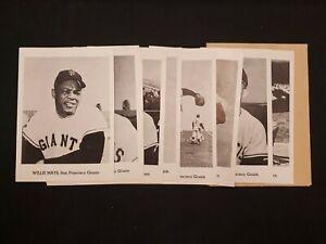 1962 Jay Publishing Co. Photo Pack of 12 San Francisco Giants Team Vintage Lot
