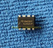 10pcs TL062CP TL062CPE4 OP AMP IC TI DIP-8