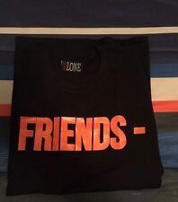 NWT VLONE FRIENDS ( ALL SIZE ) Logo Black T-Shirt ASAP Bari / Rocky Tee A$AP MOB