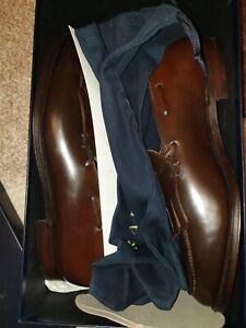 Ralph Lauren  Crockett jones Cordovan Loafer Brown shoes UK10