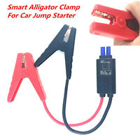12V LED Lead Cable Battery Alligator Clamp Indicator Clip For Car Jump Starter