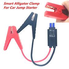 12V LED Lead Cable Battery Alligator Clamp Indicator Clip For Car Jump Starter