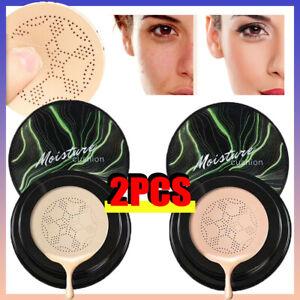 Air Cushion Mushroom Head BB CC Cream Foundation Concealer Moisturizing-Makeup^