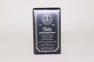 Taylor Of Old Bond St; Gentleman's Pure Vegetable Soap; For Sensitive Skin, 200g