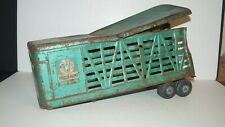 Pressed Steel STRUCTO FARMS USA Truck Semi Trailer Cattle Carrier - FOR PARTS