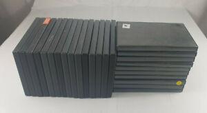 25 Empty Black Single Used DVD Cases