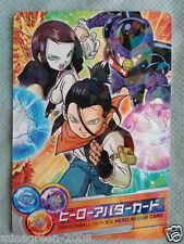 HTF JAPAN DRAGONBALL HEROES GM Limited Avatar Card Android ver. Not for Sale